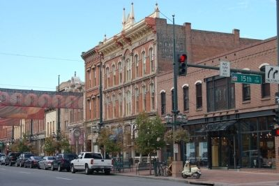 Larimer Square from 15th Street image. Click for full size.