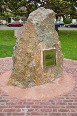 Star Park Marker and Memorial Rock image. Click for full size.