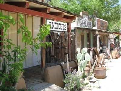 The front of Silver City Ghost Town image. Click for full size.