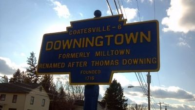 Downingtown Keystone Marker image. Click for full size.