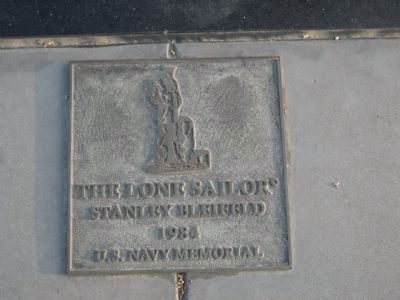 Lone Sailor Marker image. Click for full size.