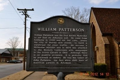 William Patterson Marker image. Click for full size.