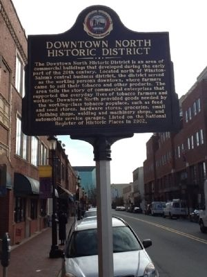 Downtown North Historic District Marker image. Click for full size.