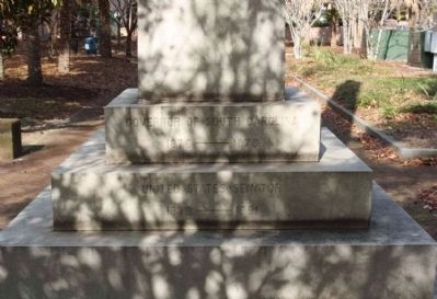 Wade Hampton Monument, south side image. Click for full size.