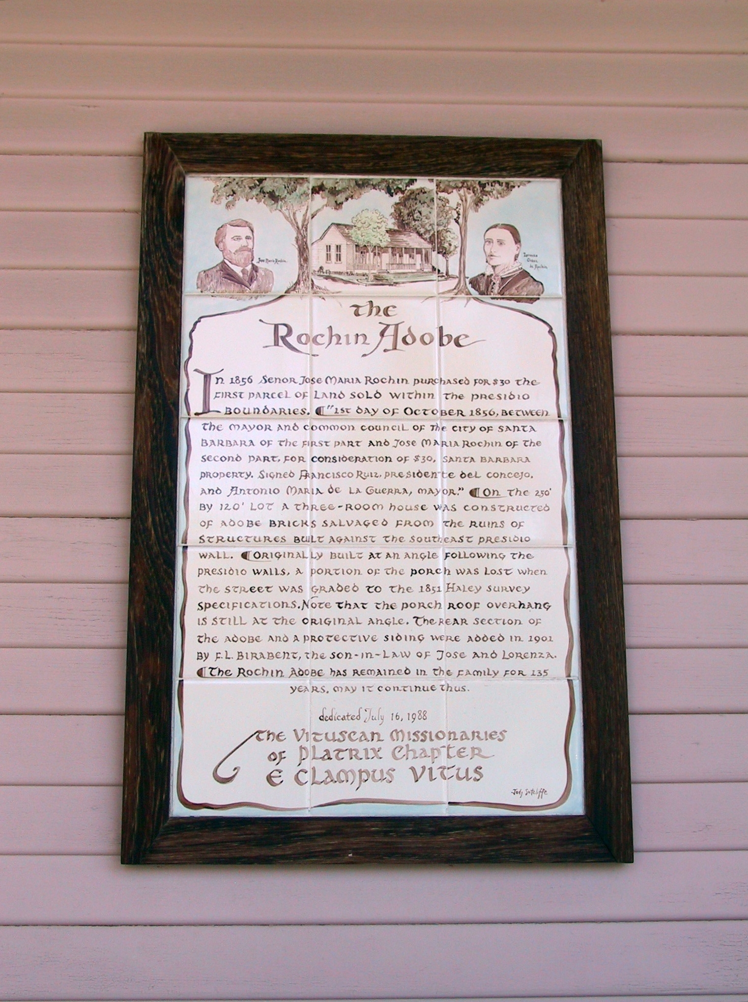 The Rochin Adobe Marker