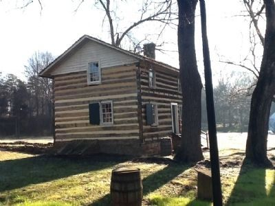 """Log House"" image. Click for full size."