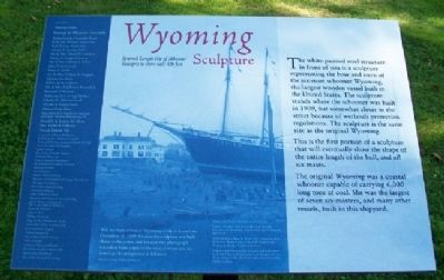 <i>Wyoming</i> Sculpture Marker image. Click for full size.