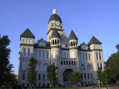 Jasper County Courthouse image. Click for full size.