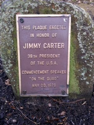 Jimmy Carter Marker image. Click for full size.