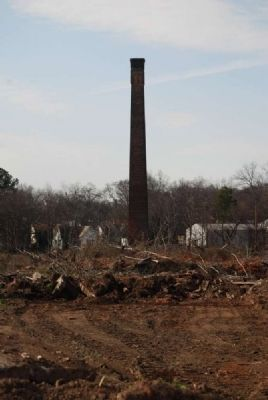 Anderson Mills No.1 Smokestack Photo, Click for full size