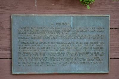 A Colonial Marker image. Click for full size.