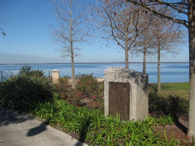 Site of Fort Mellon Marker image. Click for full size.