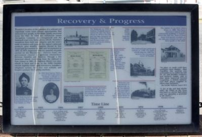 Recovery and Progress Marker image. Click for full size.