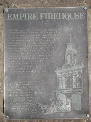 Empire Firehouse Marker image. Click for full size.