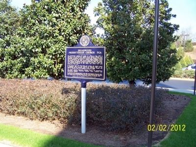 Briarwood Presbyterian Church PCA Marker image. Click for full size.