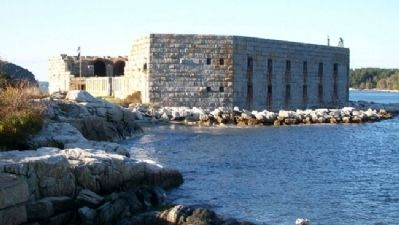 Fort Popham State Historic Site Photo, Click for full size