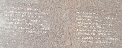 USS San Diego Memorial Marker Panels 2&3 image. Click for full size.