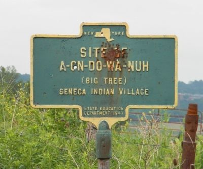 A-cn-do-wa-nuh Marker Photo, Click for full size