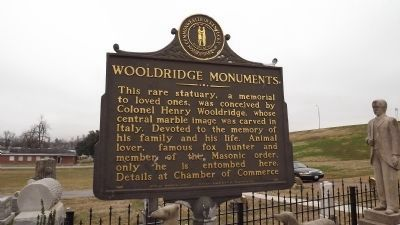 Wooldridge Monuments Marker image. Click for full size.
