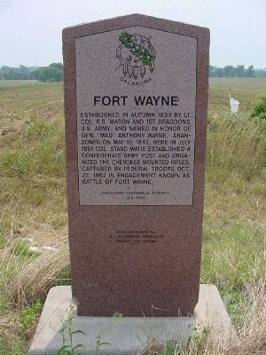 Fort Wayne Photo, Click for full size