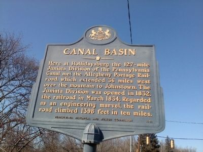 Canal Basin Marker image. Click for full size.