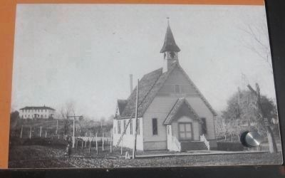 First Congregational Church - Photo Displayed on Marker image. Click for full size.