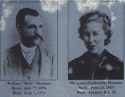 "William ""W.O."" Mosman and Margaret Galbraith Mosman image. Click for full size."