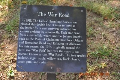 The War Road Marker image. Click for full size.