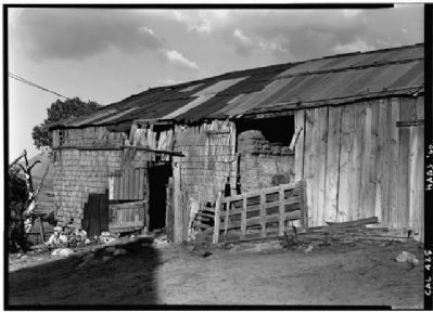 Northwest Corner of the Warner Ranch Barn image. Click for full size.