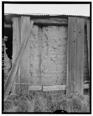Barn - Adobe Bricks image. Click for full size.
