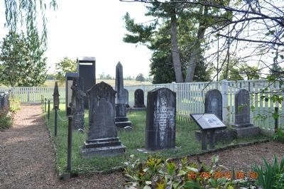The Jackson Family Cemetery Marker & Tombstones image. Click for full size.