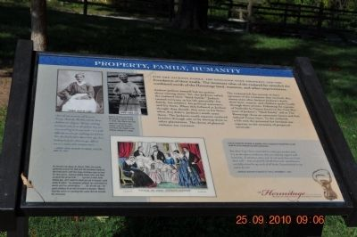 Property, Family, Humanity Marker image. Click for full size.
