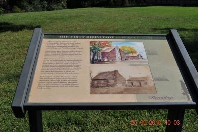 The First Hermitage Marker image. Click for full size.