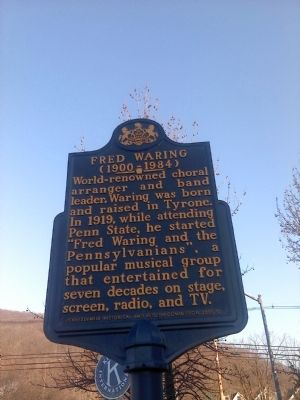 Fred Waring Marker image. Click for full size.