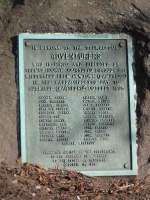 Adventurers Marker image. Click for full size.