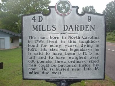 Mills Darden Marker image. Click for full size.