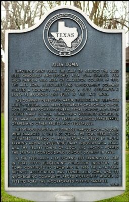 Alta Loma Marker image. Click for full size.