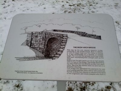 The Skew Arch Bridge image. Click for full size.