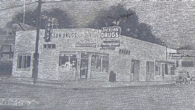 Detain from the Jackson Drugs Marker image. Click for full size.