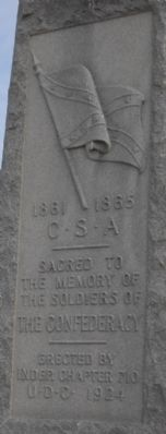 Woodlawn Cemetery Confederate Memorial Marker image. Click for full size.