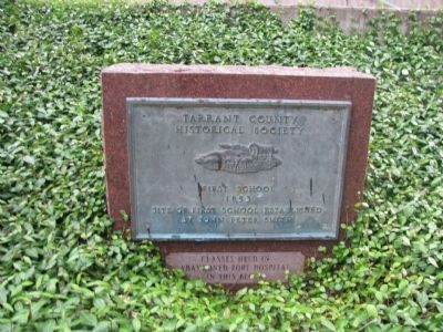 Tarrant Country Historical Society Marker image. Click for full size.