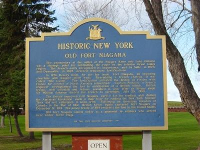 Historic New York Marker image. Click for full size.