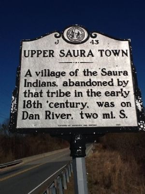 Upper Saura Town Marker image. Click for full size.