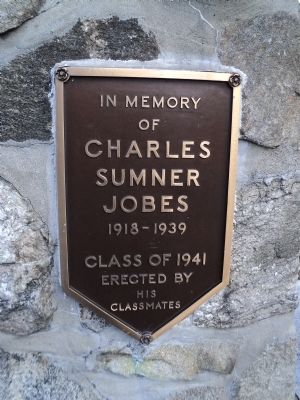 Charles Jobes Marker Photo, Click for full size