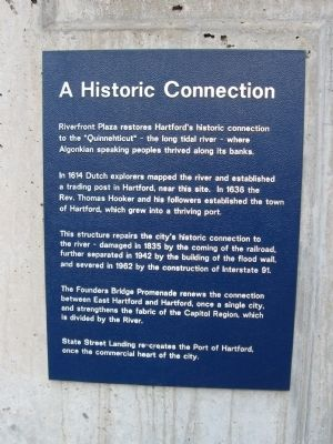 Recapture of the Connecticut River Marker image. Click for full size.