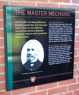 The Master Mechanic Marker image. Click for full size.