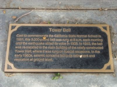 Tower Bell Marker image. Click for full size.
