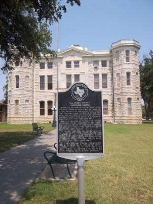 Val Verde County Courthouse Square Marker image. Click for full size.