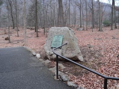 Marker at Bear Mountain image. Click for full size.