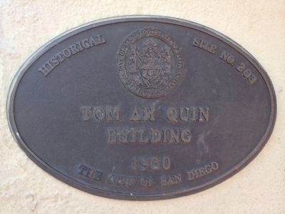 Tom Ah Quin Building image. Click for full size.